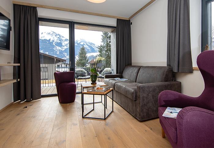 Kategorie-4-Deluxe-Aparthotel-EMMA-Kaprun-Piesendorf-Urlaub-Salzburg-Pinzgau-Ferienwohnungen